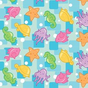 Bright Ocean Critters