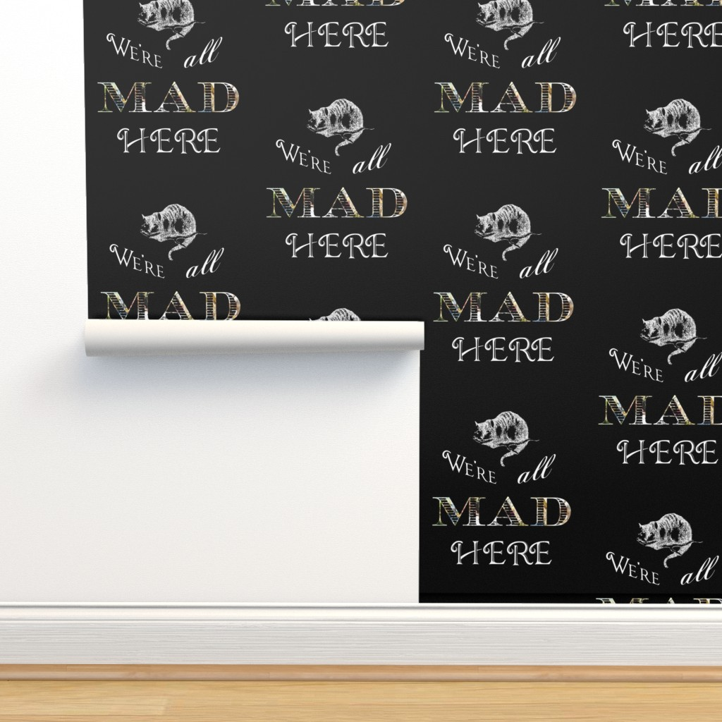 Alice In Wonderland Mad Cheshire Cat On Isobar By 13moons Design