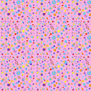 Pink Double dots , Mc Lion collection by Rosanna Hope for babybonbons