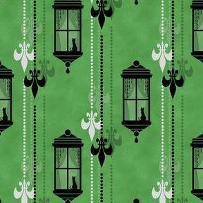 Rainy Fleurs - Vert