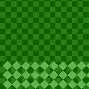 green hedgehog skirt