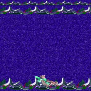 purple bear top