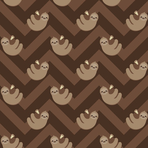 Sloths and chevrons