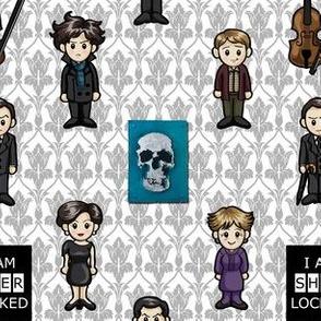 Cutesy Holmes - BBC Sherlock