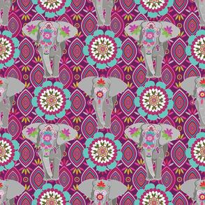Elephant Festival Madness