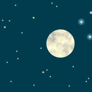 Full Moon in the Southern Sky