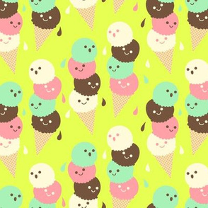 Ice Cream Social - Small  Lime