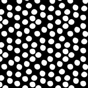 Scatter Dot - Black & White