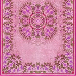Art Nouveau Tile ~ Freesia Jacquard