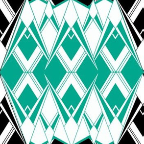Art Deco ~ Diamonds and Emeralds