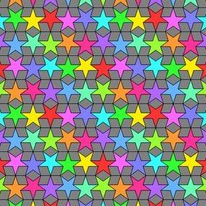 02424877 : rhombus stars