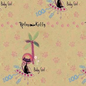 Retro Kitty / Paws