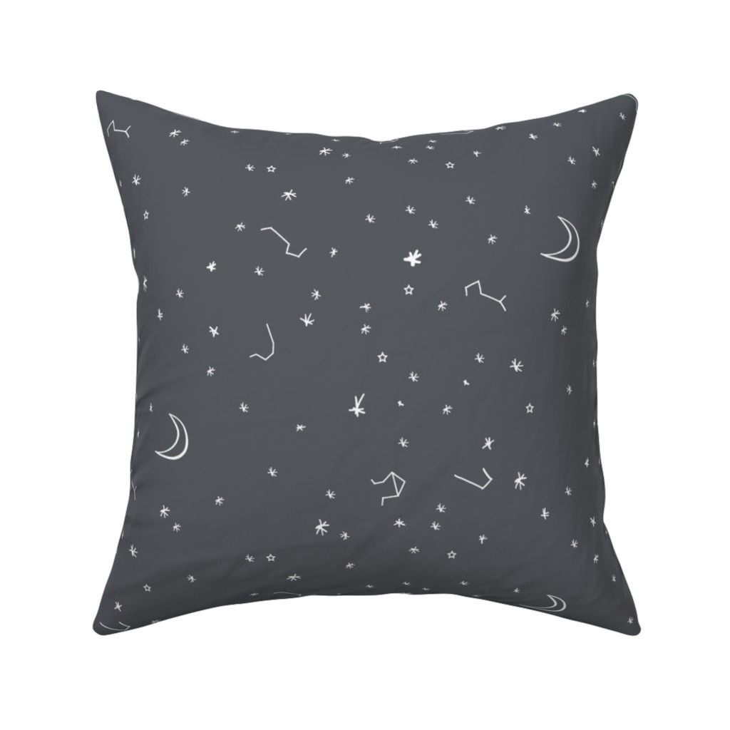 Catalan Throw Pillow featuring Under the stars by nouveau_bohemian