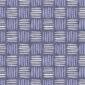 checkered hatch periwinkle