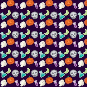 Halloween Retro-Pop Icons