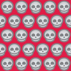 Halloween Retro-Pop Skulls