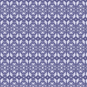 Abstract Leaves - Purple