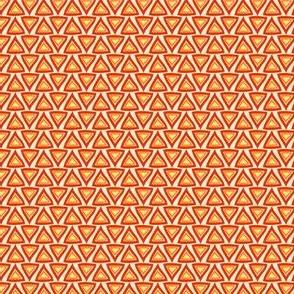 Orange Red Triangles