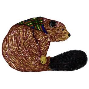 beaver swatch