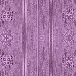 Moire stripes in lilac