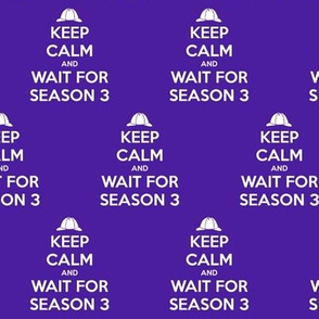 Keep Calm Season 3 - solid
