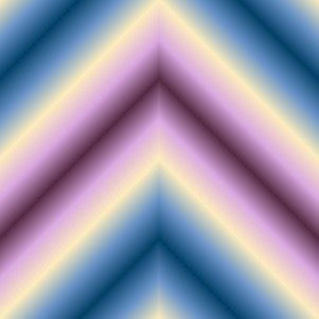 02437431 : ombre zigzag : twilight haze