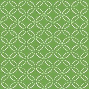 Green Retro Circles