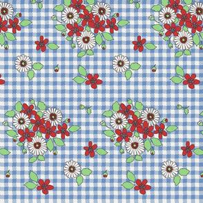 50s_flowers_on_blue_gingham