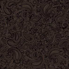 American Indian Raven Sunflower Purple