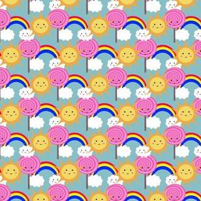 Sun Lolly Rainbows