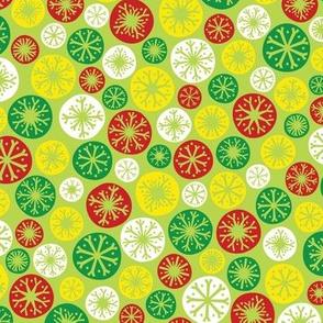Festive Snow Daze (Light Green)