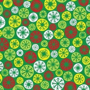 Festive Snow Daze (Green)