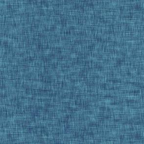 Solid Blue Linen