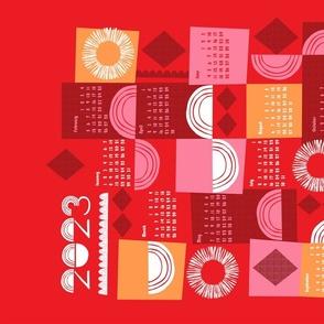 2021 juxtaposition tea towel calendar-27 inch