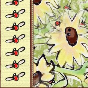 Sunflower_dishtowel