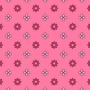 Starry Petals - Fairy-Floss Pink