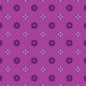 Starry Petals - Amethyst