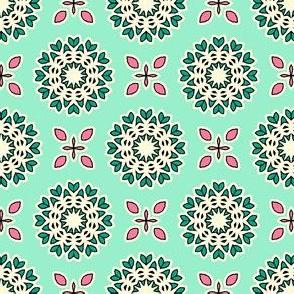 Full Bloom - Mint Green