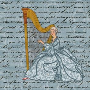 Dangerous Liaisons ~ Cecile's Harp Lessons ~ Pillow Sizes