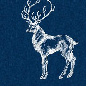cusion_navy_deer