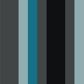 Blue Black Stripe