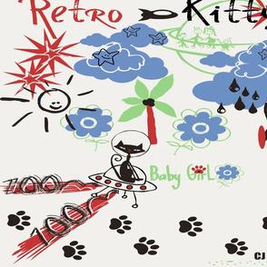 Retro Kitty / FAT 1/4