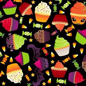 Spooky Halloween Cupcakes and Treats