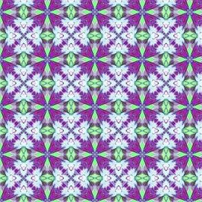 Mint & purple tiles