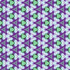 Purple green pastel