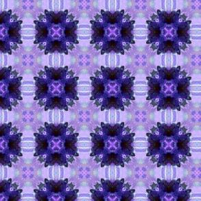 Dark blue violet tiles