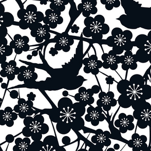 Chinese Paper Cutting Xtra Large Black