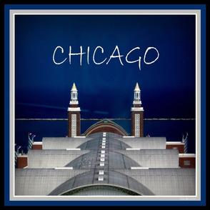 """CHICAGO PIER- 18"""" SCARF"""