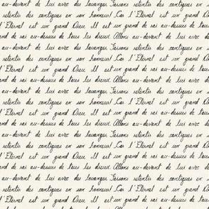Petite French Script