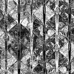 Ghost black + white dragon scales by Su_G